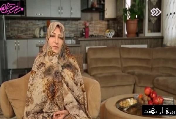 کلیپ مستند دانلود از لاک جیغ تا خدا این قسمت خانم معصومه خراسانی (مادر) 05-02-1395.jpg (601×407)