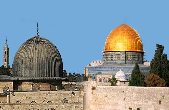 قبة الصخره و مسجد الاقصی