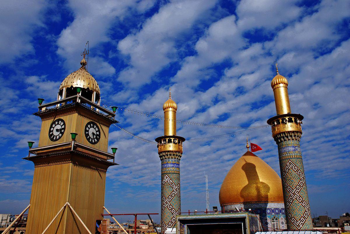 قبه و مناره و برج ساعت حرم حضرت عباس.jpg (1200×803)
